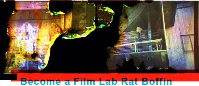 Become a Film Lab Rat Boffin