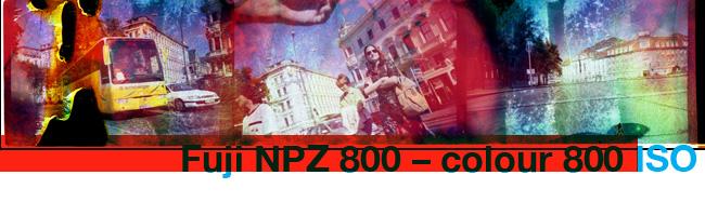 Fuji NPZ 800 – colour 800 ISO
