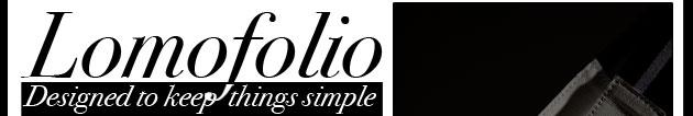Lomofolio – designed to keep things simple.