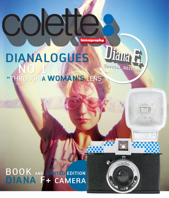 Dianalogues No. 1 Through A Woman's Lens: Book and Limited Edition Diana F+ Camera