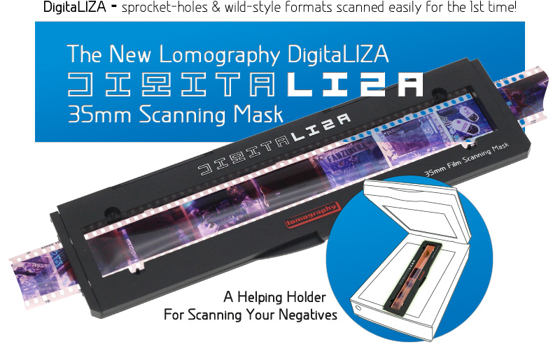 The New Lomography DigitaLIZA 35mm Scanning Mask, A Helping Holder For Scanning Your Negatives!