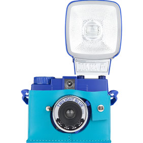 Diana Mini Case Peacock Blue