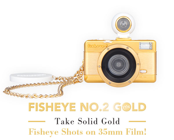 Fisheye No.2 Gold