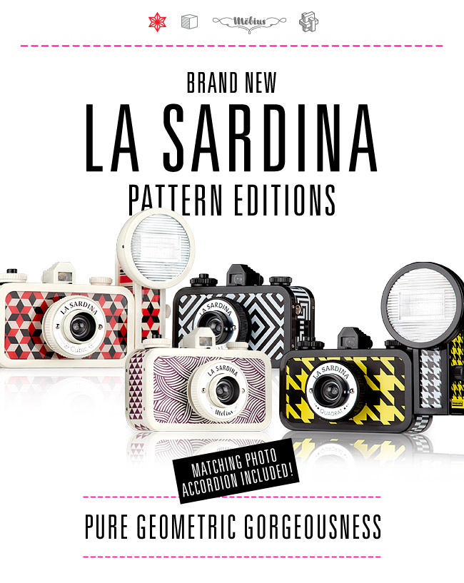 Brand New La Sardina Pattern Editions