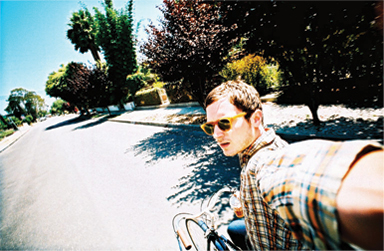 Elijah Wood with a LOMO LC-Wide