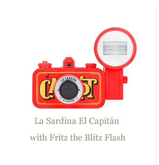 La Sardina El Capitan with Fritz the Blitzh Flash