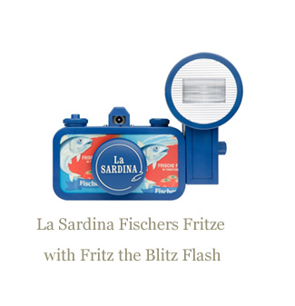 La Sardina Fischers Fritze with Fritz the Blitzh Flash
