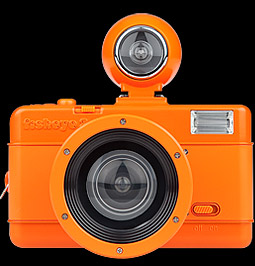 Fisheye No.2 Vibrant Orange