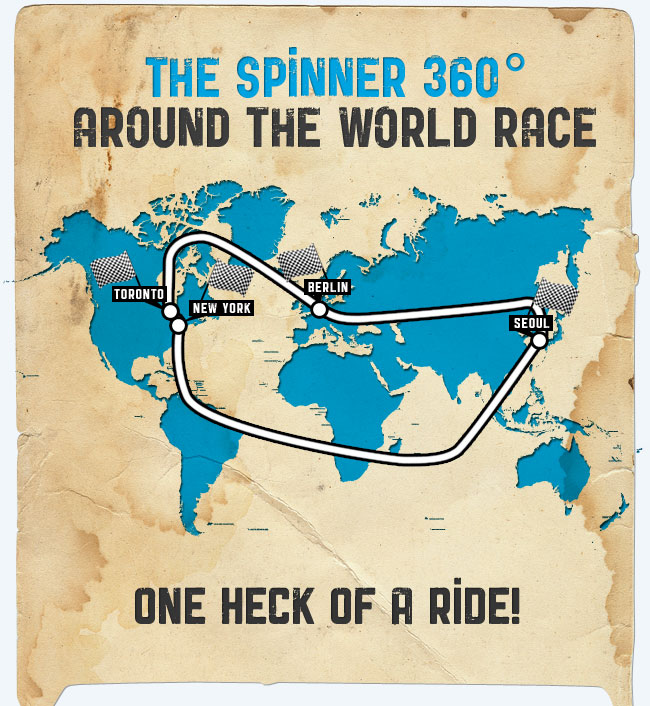 The Spinner 360º - Around The World Race