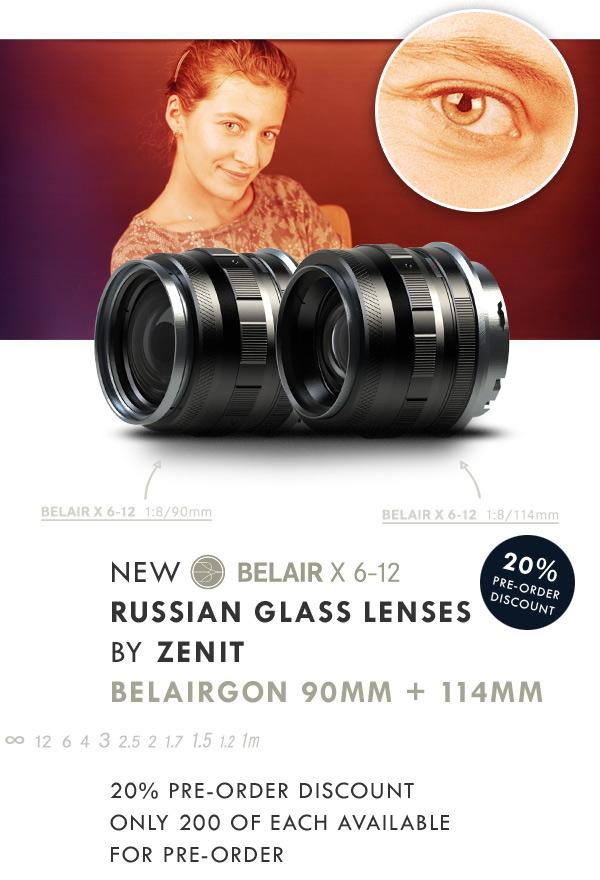 Novas lentes russas