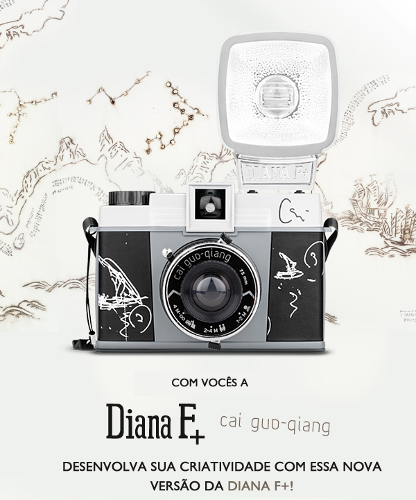 Introducing the Diana F+ Cai Guo-Qiang