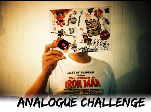ANALOGUE CHALLENGE: Go on a vintage hunt!