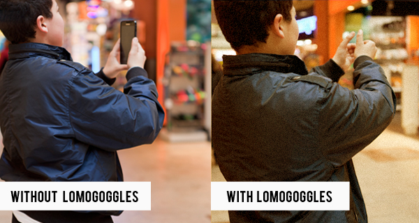 introducing lomo goggles