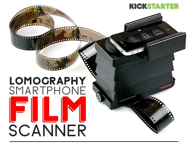 Scanner de Filme Smartphone